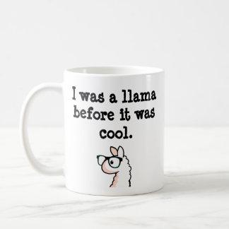 Hipster Llama Coffee Mug