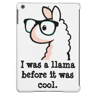 Hipster Llama Cover For iPad Air