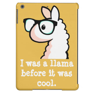 Hipster Llama iPad Air Cover