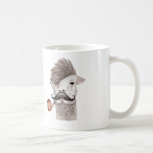 Hipster Llama Mug