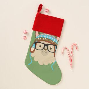 hipster llama stocking