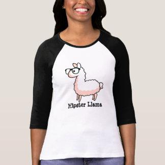 Hipster Llama T-Shirt