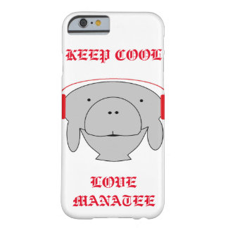 Hipster manatee phone casing barely there iPhone 6 case