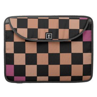 Hipster Modern Checkerboard CricketDiane Sleeve For MacBooks