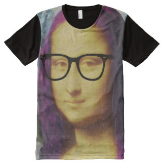 Hipster Mona All-Over Print Shirt