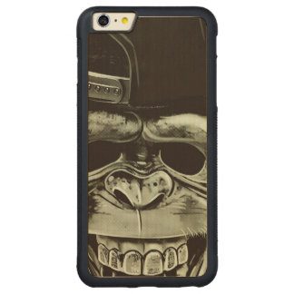 Hipster Monkey Carved® Maple iPhone 6 Plus Bumper