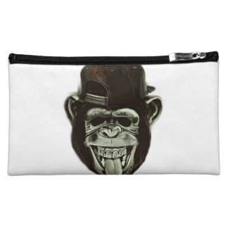 Hipster Monkey Cosmetic Bag