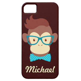 hipster monkey hipsta animal iphone 5 case cover