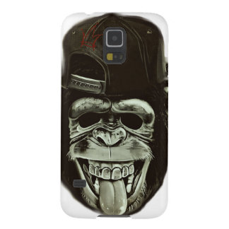 Hipster Monkey Style Case For Galaxy S5