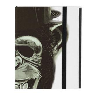 Hipster Monkey Style iPad Folio Case