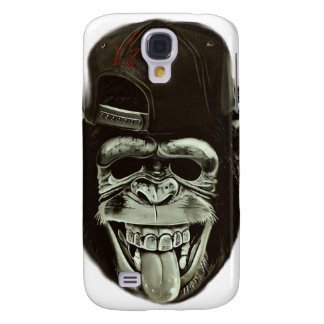 Hipster Monkey Style Samsung Galaxy S4 Cover