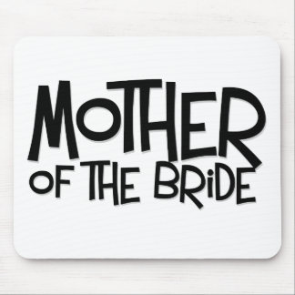 Hipster Mother of the Bride Mouse Pad