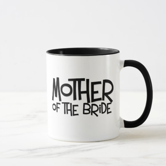 Hipster Mother of the Bride Mug