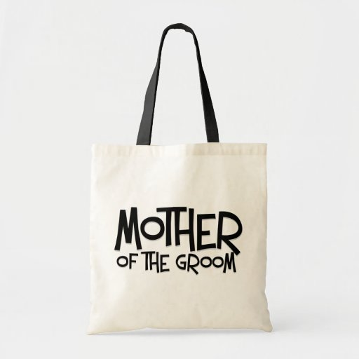 Hipster Mother of the Groom Canvas Bag