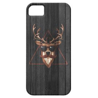 Hipster Moustache Deer - Dark Edition iPhone SE/5/5s Case