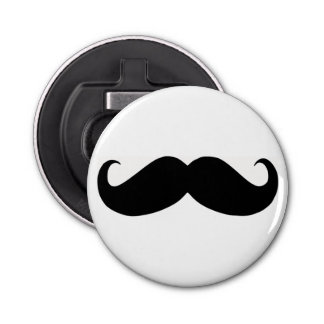 Hipster Mustache Bottle Opener