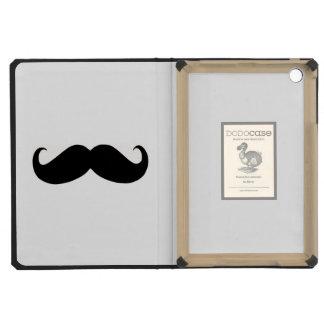 Hipster Mustache iPad 2 3 4 Air Mini DODOcase iPad Mini Cover
