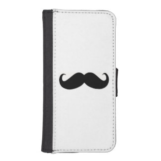 Hipster Mustache iPhone 5/5s Wallet Case Phone Wallet Case
