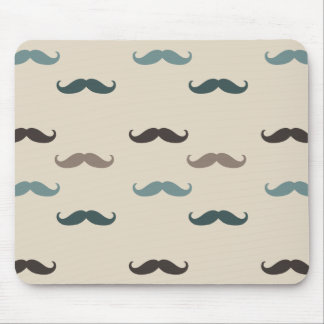 Hipster Mustaches Mouse Pad