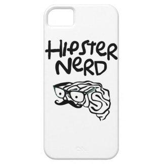 hipster nerd mustache glasses iPhone SE/5/5s case