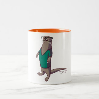 Hipster Otter Mug (without text)