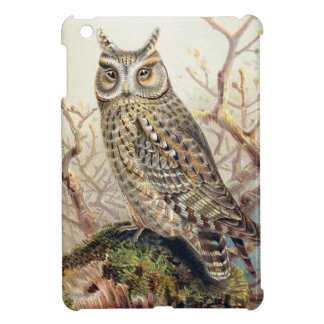 Hipster Owl Looks Down On Your Lack of Knowledge Cover For The iPad Mini