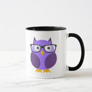 Hipster Owl Mug