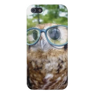 Hipster Owl Phone Case For iPhone 5