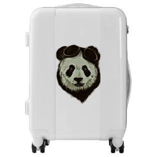 Hipster Panda Bear Luggage