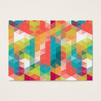 Hipster Pattern Business Card