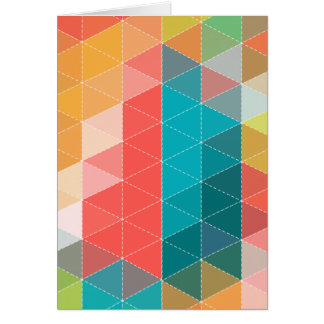 Hipster Pattern Card