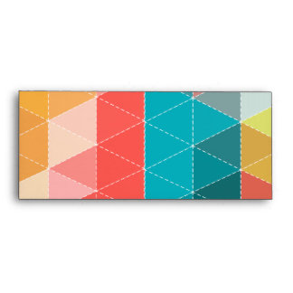 Hipster Pattern Envelope
