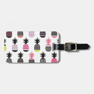 Hipster,pattern,multi,color,pinapple,trendy,girly, Tags For Luggage