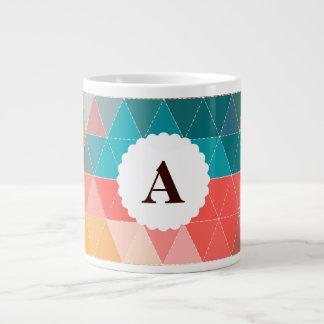 Hipster Pattern 20 Oz Large Ceramic Coffee Mug