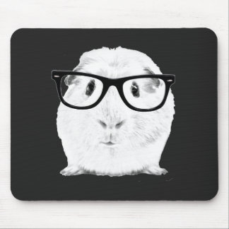 Hipster Pigster Mouse Pad