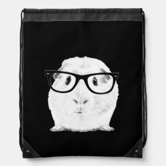 Hipster Pigster Cinch Bags