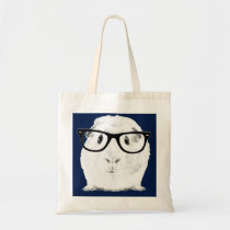 Hipster Pigster Tote Bag