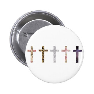 Hipster Pinback Button