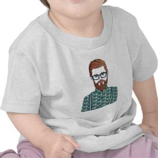 hipster camisetas