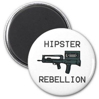 Hipster Rebellion Magnet
