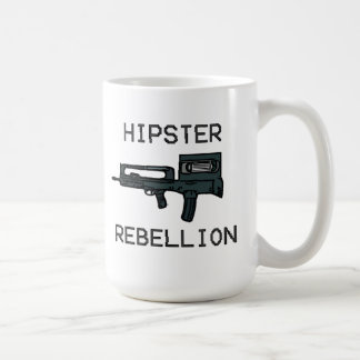 Hipster Rebellion Classic White Coffee Mug