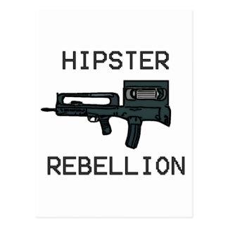 Hipster Rebellion Postcard