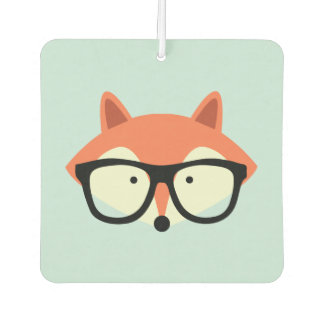 Hipster Red Fox Air Freshener