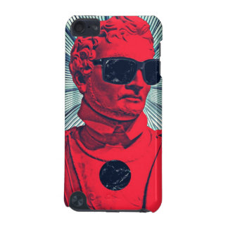 Hipster red statue iPod touch 5G cover