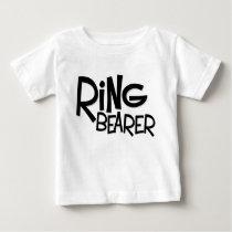 Hipster Ring Bearer Baby T-Shirt