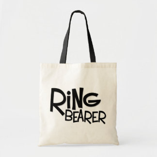 Hipster Ring Bearer Canvas Bags