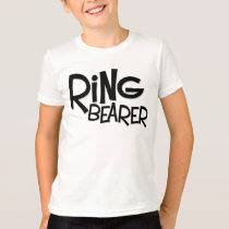 Hipster Ring Bearer T-Shirt