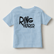 Hipster Ring Bearer Toddler T-shirt