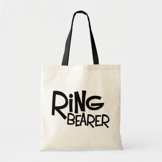 Hipster Ring Bearer Tote Bag