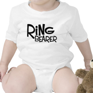 Hipster Ring Bearer T Shirt